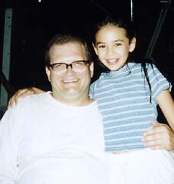 Photo of Janel Parrish & her Father  Mark Parrish