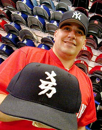 Remember when Japanese kanji Yankee caps were popular  I was probably 15 or  so ed5d9ba573a