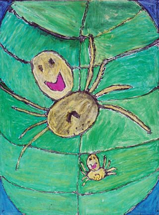 happy face spider hawaii. quot;Happy Face Spider,quot; by Shanna