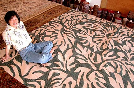 Area Rugs Such As Volcano By Hei Bay Designs At Top Add Interest To A Room And Can Unify Its Elements Above Gwen Nagata S Manager