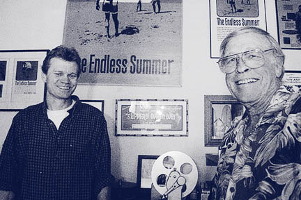 Shares A Love Of Filmmaking With His Son Dana Whos Also In The Business Bruce Brown Changed Face Surf Endless Summer