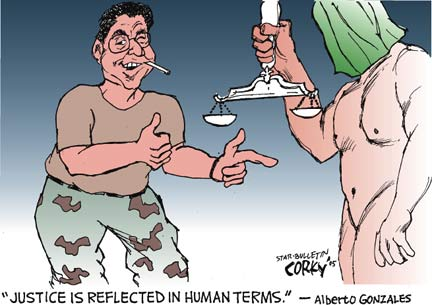 Corky Editorial Cartoon