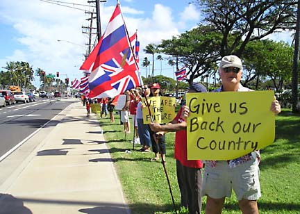 an analysis of the hawaiian sovereignity Hawaiian sovereignty  a bill that for the first time would extend sovereignty to the native hawaiian people is poised for a vote - and likely approval - in the u .