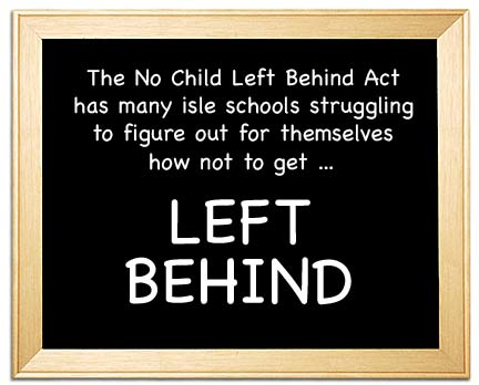 the no child left behind act The effects of the no child left behind act on school systems and students jessica warner education 200 no child left behind (nclb) was instated.