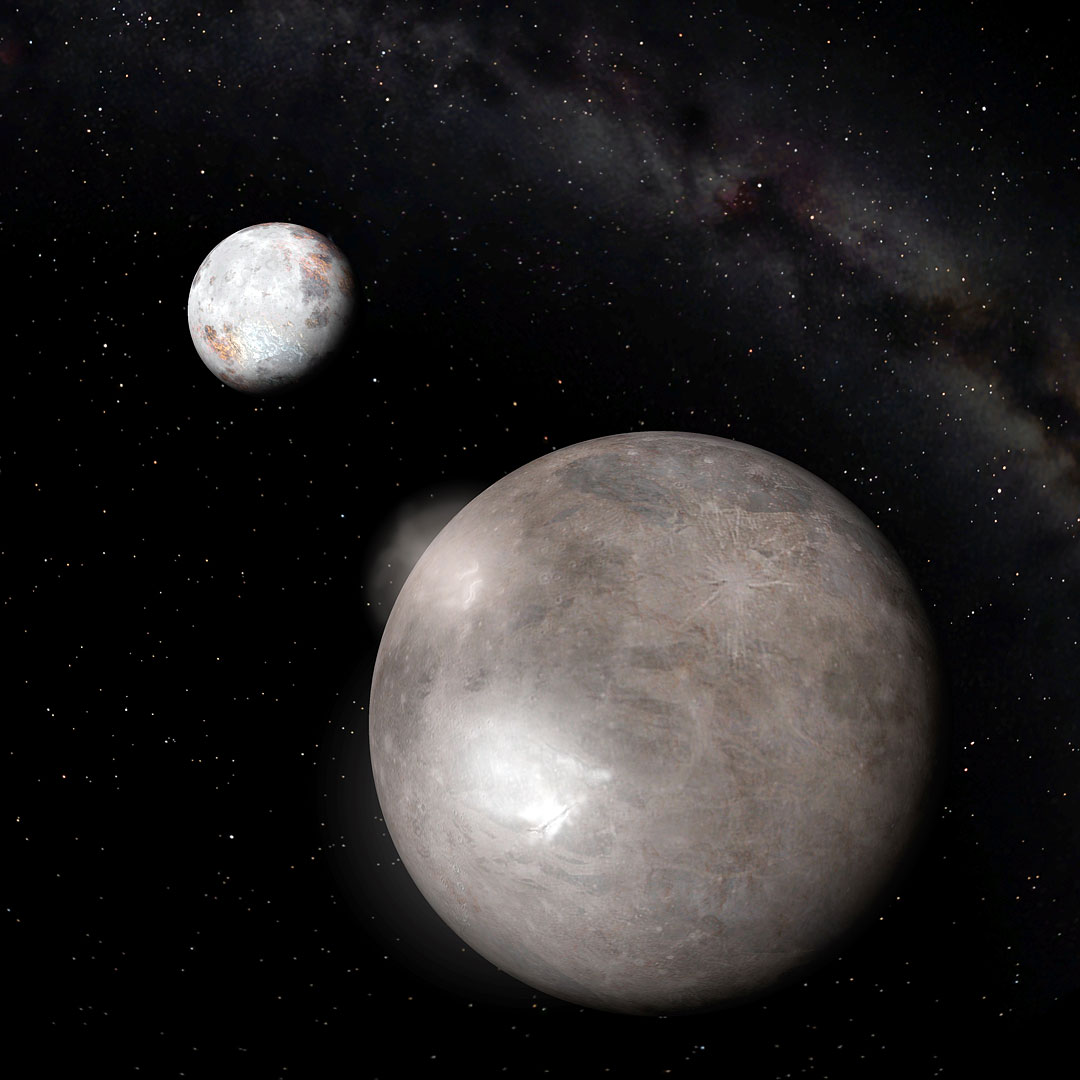 moons around pluto - photo #10