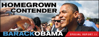[Homegrown Contender: Barack Obama]