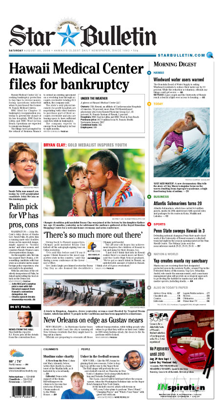 ... gay pair's housing suit; Telescope plan backers state their case; Maui ...