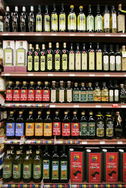 WHOLE FOODS OLIVE OIL SELECTION