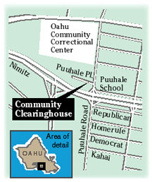 Map to Community Clearinghouse